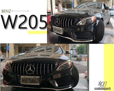 》傑暘國際車身部品《全新 賓士 BENZ W205 C300 C180 改 AMG樣式 前保桿 前大包 空力套件 素材