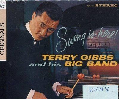 *真音樂* TERRY GIBBS / SWING IN HERE 全新 K16314