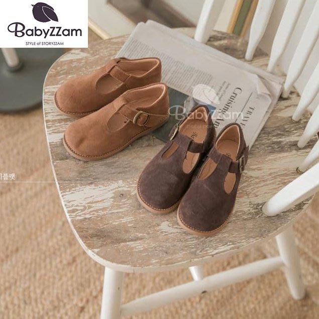 『※妳好,可愛※』妳好可愛韓國童鞋 BABYZZAM~正韓 時尚經典大頭鞋 魔鬼氈休閒鞋