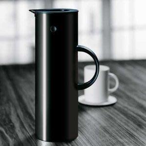 水壺德國全新丹麥stelton限量版不銹鋼\/鈦啄木鳥熱水瓶保溫壺