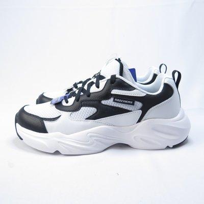 Skechers STAMINA AIRY LABAK 休閒鞋 51936WBK 男款 黑白【iSport愛運動】