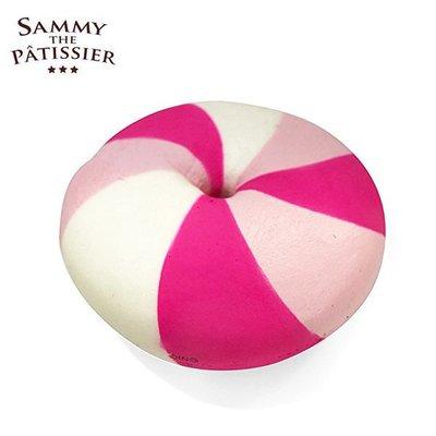 含稅 日本正版 貝果 粉紅款 捏捏吊飾 吊飾 捏捏樂 軟軟 squishy 捏捏 Sammy【615749】
