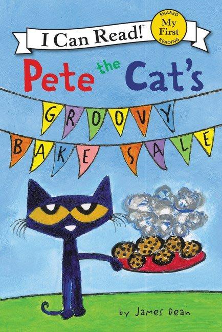 *小貝比的家*ICR PETE THE CAT'S GROOVY BAKE SALE /MY FIRST/平裝/3~6歲