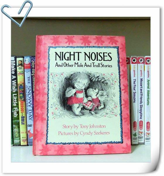 *【兒童英語繪本】*小pen外文~ Night Noises and other Mole and Troll Stories