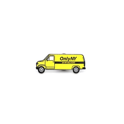 { POISON } ONLY NY VAN PIN-S 街頭廂型車 特製上色金屬別針徽章