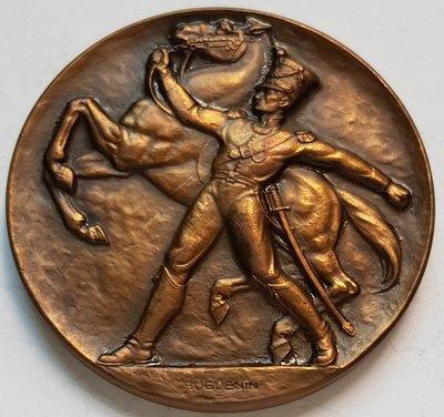 瑞士銅章 1933 Schweiz Eidgenossenschaft  Bronze Medal .