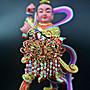 【福臨軒】精品神明金牌 索片 鎖片 8寸8 1尺3 1尺6神像 神明配件 媽祖 太子 觀音 王母娘娘 謝神 酬神