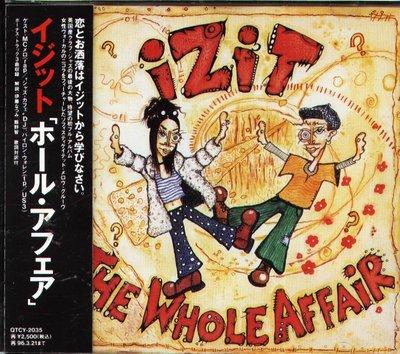K - Izit - The Whole Affair - 日版  +3BONUS+OBI
