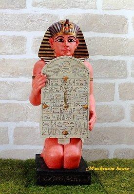 點點蘑菇屋{時鐘擺飾}歐洲進口埃及座鐘...