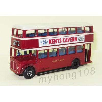 懷舊 英國巴士模型 EFE 19702 AEC Regent V MCW Orion - Devon General