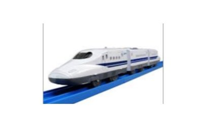 Takara Tomy Plarail Train S-01 Series 700 Shinkansen with Light 模型 玩具火車 #811671