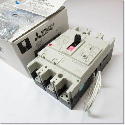 NV250-NCV,3P 125A 100/200 / 500mA AL-1LS SLT帶報警開關的單相三線電路專用斷路器(三菱電機) 中古 二手 NV25O-
