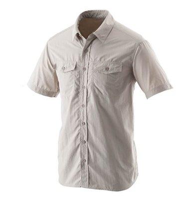 佳美地戶外休閒服飾 荒野 wildland W1210男排汗抗UV短袖襯衫2560元特價1280元