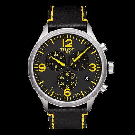 Tissot 天梭速馳系列皮帶石英男腕錶 T1166171605701