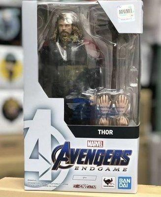 Bandai Marvel Shf Avengers 4 End Game Action Figure Fat Thor 復仇者聯盟 肥雷神