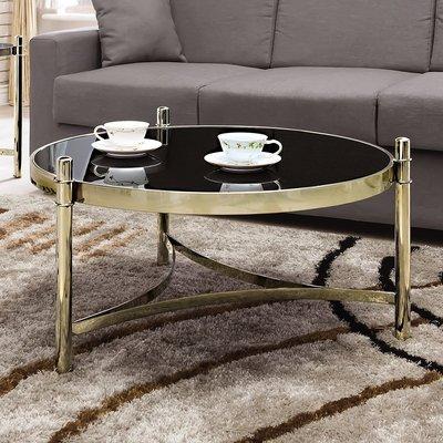 北歐茶几輕奢個性邊幾簡約鋼化玻璃茶几新...