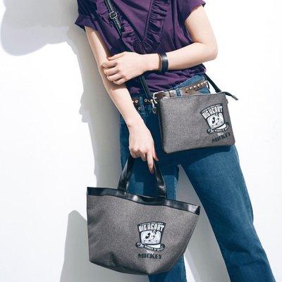 迪士尼DISNEY《預購》米奇 大容量手提包 托特包 便當提袋~日本正品~心心小舖