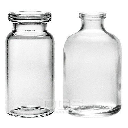 『德記儀器』玻璃瓶 台製透明、茶色血清瓶-香水、分裝、鋁蓋、封蓋、實驗器材、容器