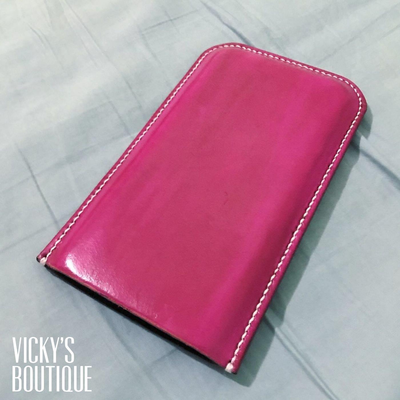 純手工製 COG真皮手機套 客製 可自己搭配顏色