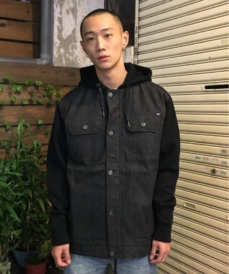 【Faithful 】REBEL 8 FACTION JACKET 外套 牛仔 黑