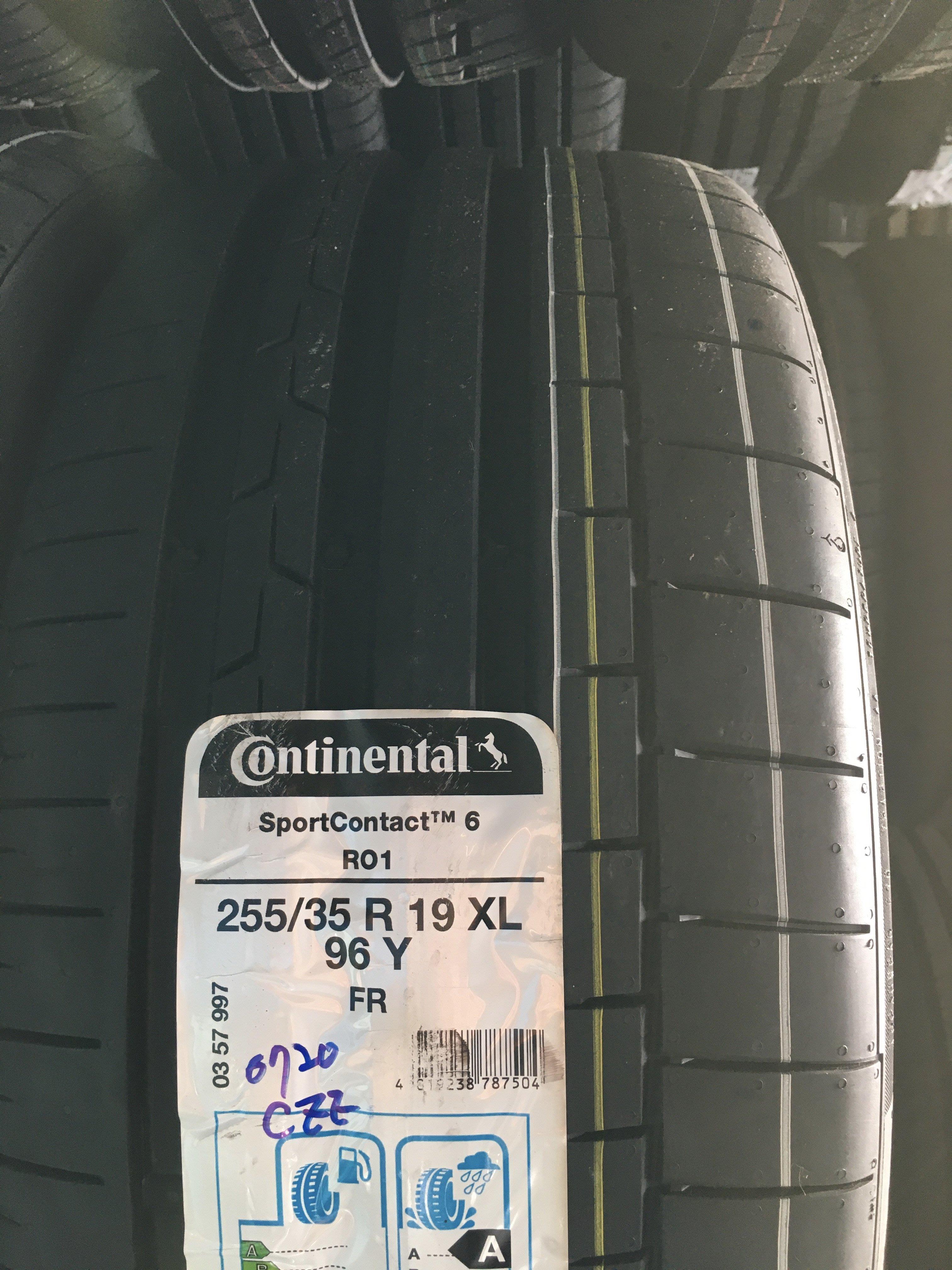 百世霸定位Continental馬牌輪胎SC6 255/35/19 7000完工bmw benz奧迪 ps4s pzeo