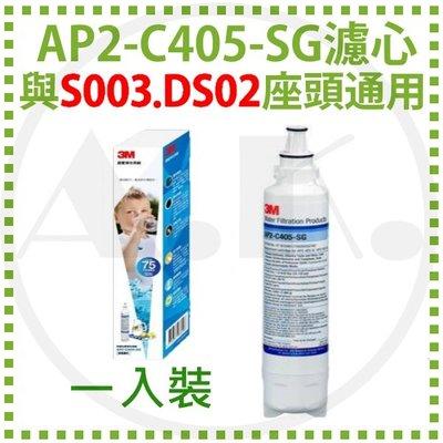 現貨 3M AP2-C405-SG替換濾心 HCD-2內置濾心 與S003/DS02頭座通用 DS02可用