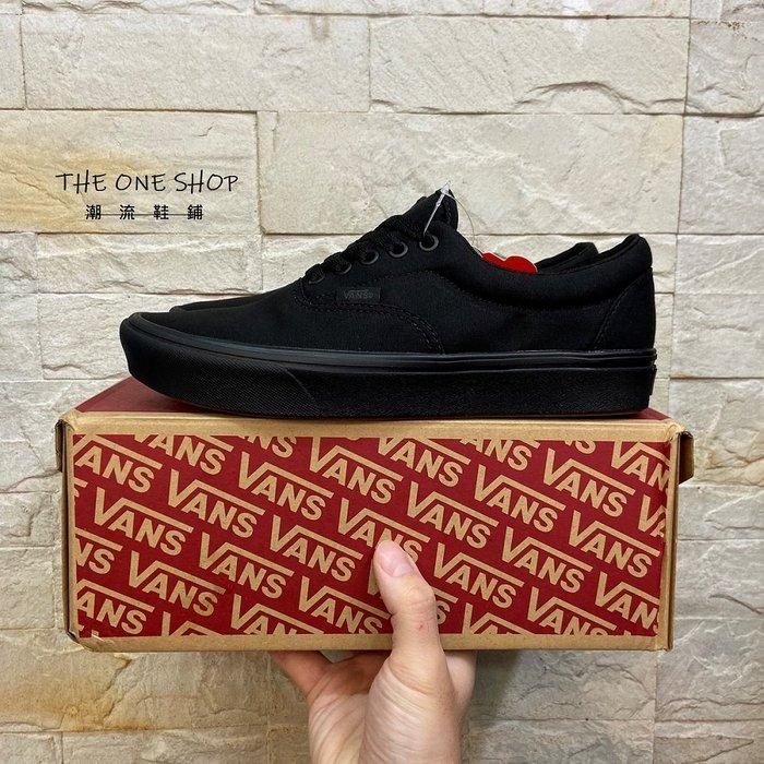 VANS Comfycush ERA Black 黑色 全黑 輕量 止滑 耐磨 帆布鞋 經典款 VN0A3WM9VND