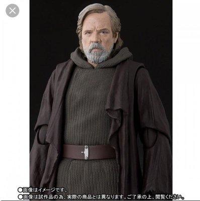 全新SHF Old Luke Star Wars 星球大戰 rey kylo marvel legneds Hottoys Bandai 美國隊長雷神mafex