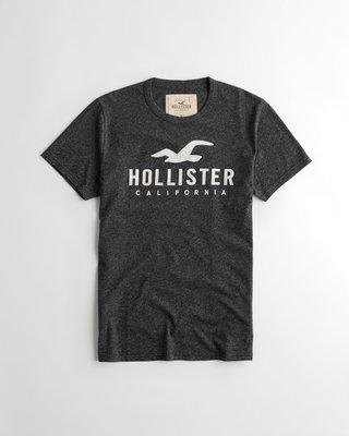 Hollister Logo Graphic 刺繡貼布短袖 T恤  Abercrombie & Fitch A&F