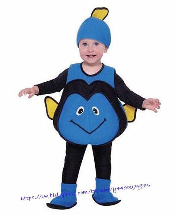 妍媽咪兒童禮服出租~迪士尼皮克斯海底總動員擬刺尾鯛多莉Dory造型服~萬聖節造型