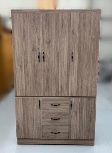 【台中二手家具】宏品全新中古家具家電買賣 PN821EH*歐悅4X7衣櫃* 衣櫥 收納櫃 斗櫃 書櫃 層櫃 臥室傢俱