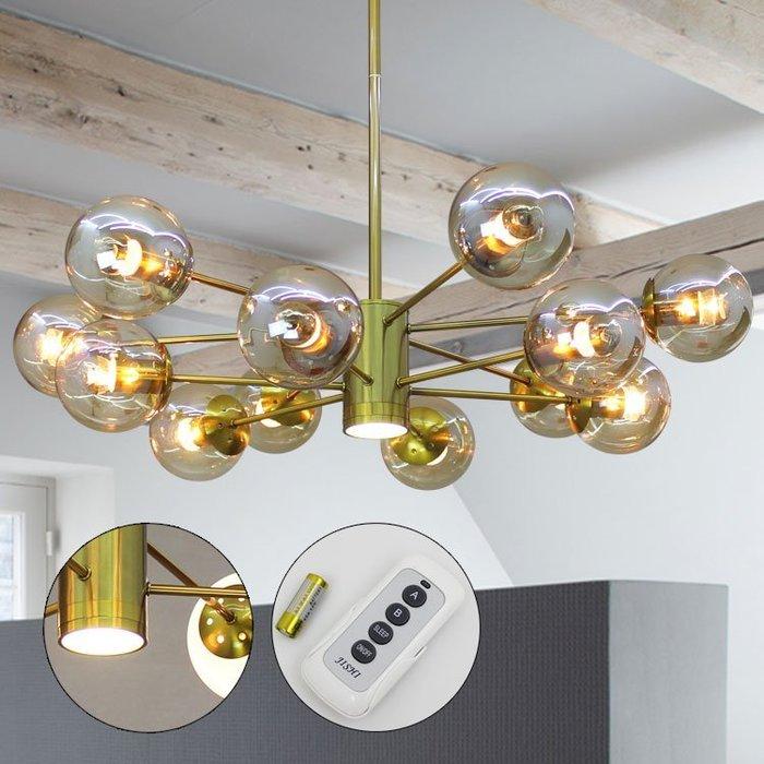 【58街】「LED電鍍射燈款/金色摩豆吊燈」美術燈_極致典雅品味,複刻版。GH-552