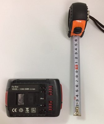 全新 通用 BOSCH(博世) 鋰電池 18V BAT609 3000mAh (有電量顯示) 手電鑽鋰電池/電動工具配件