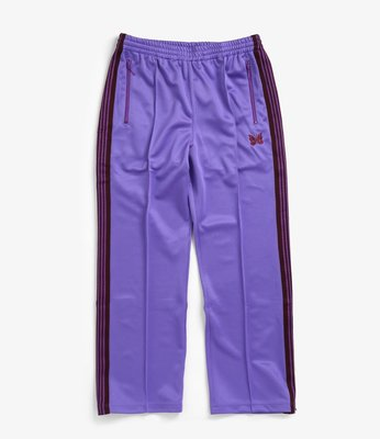 【Hills Select】NEEDLES TRACK PANT - POLY SMOOTH 紫色 運動褲 休閒褲