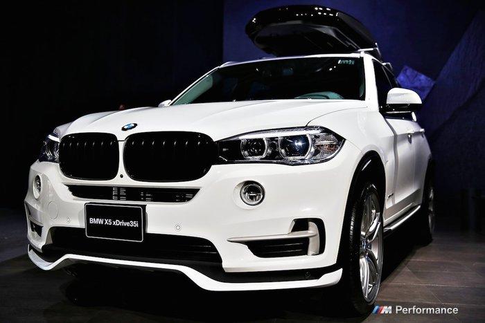 【樂駒】BMW F15 X5 M Performance 原廠 空力 套件組 外觀 改裝 前下巴 後下巴