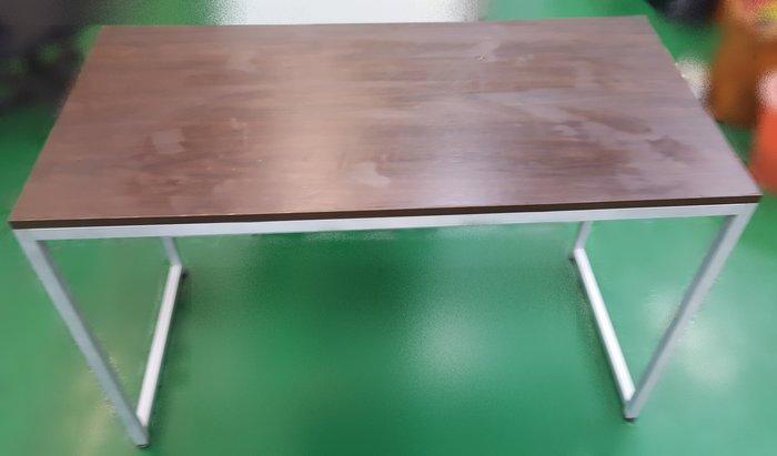 【宏品二手家具館】 台中中古古董家具家電賣場 B40117*胡桃書桌* 辦公桌 2手桌椅 餐桌 會議桌 辦公桌
