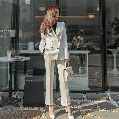 2020正韓❤️版型太美修身顯瘦西裝外套+ 西裝褲