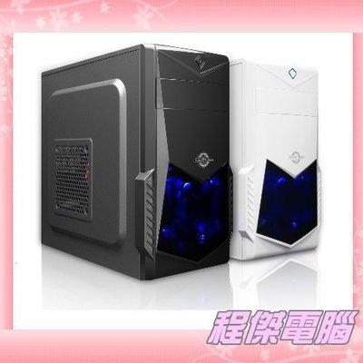 『高雄程傑電腦 』aibo 鈞嵐 CB515 魔法使者 Micor ATX架構 藍光風扇 USB3.0【實體店家】