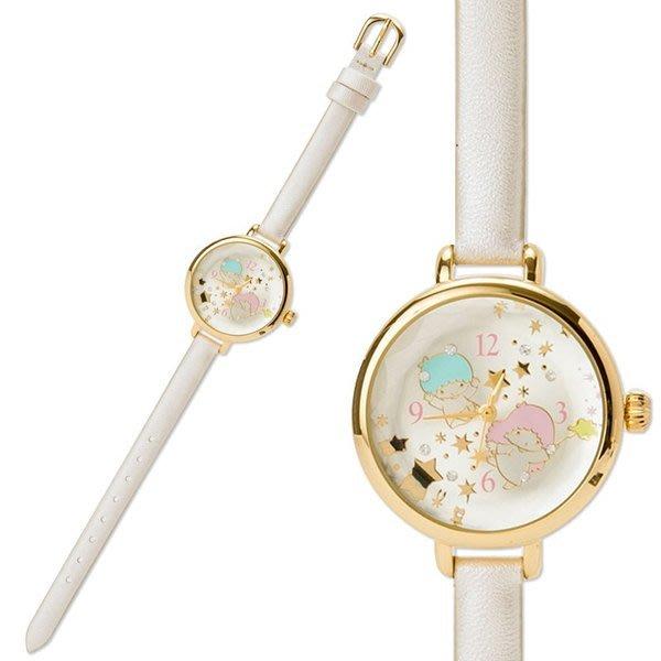 41+ 現貨不必等 正版授權 雙子星 皮革錶帶碗錶手錶 4901610838303  my4165