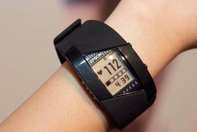 EPSON Pulsense PS500 心率運動手錶 心率有氧教練 PS-500