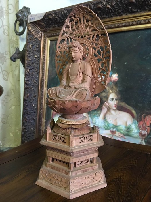 釋迦牟尼佛  台灣早期木雕