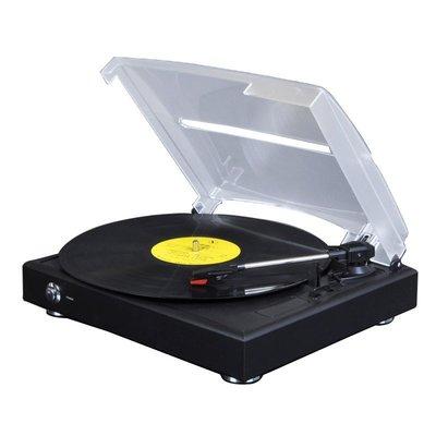 【易生發商行】全新電唱機 黑膠唱片機 仿古老式留聲機 LP唱機音箱音樂播放器復F6185