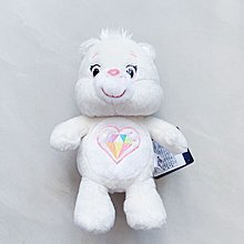 Care Bears 日本展覽限定新角 sparkle heart care bear 鑽石白熊 聖誕禮物