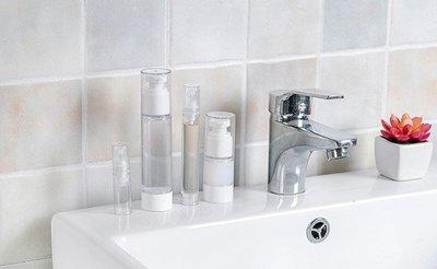 噴霧瓶(5ml)空瓶 空罐 化妝保養品分類瓶 填充容器 按壓瓶 透明乳液/ 壓泵真空分裝瓶 彰化縣