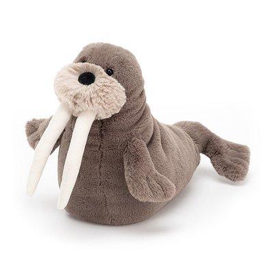 預購 英國嬰幼兒第一品牌 JELLYCAT全品項代購 可愛海洋系列 微笑 海象先生 娃娃 生日禮 公仔