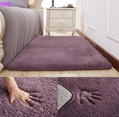 地墊 毛毯 簡約現代加厚羊羔絨床前床邊臥室地毯客廳地毯茶幾滿鋪飄窗可定制 遊戲墊 坐墊—莎芭