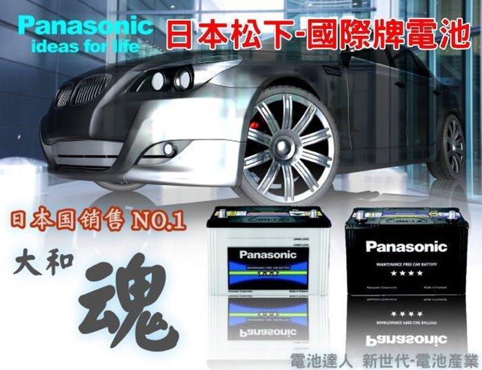 【電池達人】國際牌 55B24L 加強型 汽車電池 MARCH TIIDA LIVINA 青鳥 本田 FIT CITY