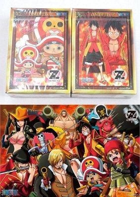 日本拼圖 One piece 海賊王 航海王 魯夫 FILM Z 1000片+150片2款絕版拼圖.SEJ-11 09