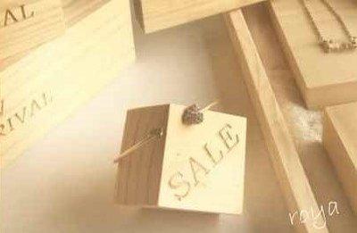 ☆蘿亞☆飾品展示 牌 sale飾品展示架 飾品推銷座 推銷 宣傳生財工具 展示架 戒指 zakka 木頭 原創感