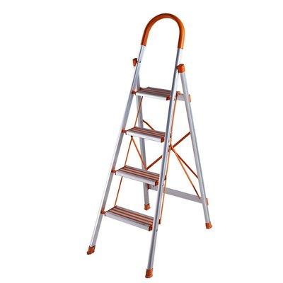 ☀無憂戶外☂梯子家用折疊鋁合金加厚踏板工程梯室內防滑多功能四五步梯 I561